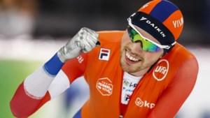 Schaatser Patrick Roest pakt wereldbeker voor eerste keer