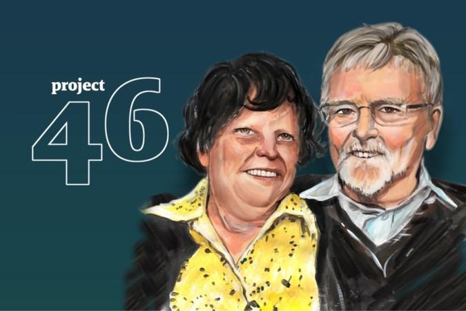 Ruth (81) en Andreas (78) uit Stein botsten tegen de brug en werden hand in hand opgebaard