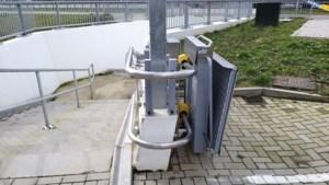 Rolstoelliften van tunnel onder N274 bij Schinveld vaak defect