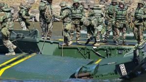 Grootscheepse Amerikaanse militaire oefening in Grubbenvorst