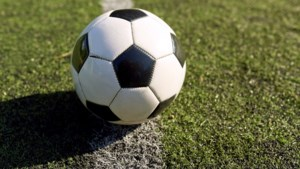 Voetbalvereniging KVC Oranje uit Kerkrade huldigt jubilarissen