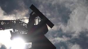 Stevige buien zorgen lokaal voor schade en overlast in Zuid-Limburg