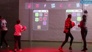 Kinderen van Heerlense school De Buitenhof leren en sporten tegelijk dankzij Lü Interactive Playground