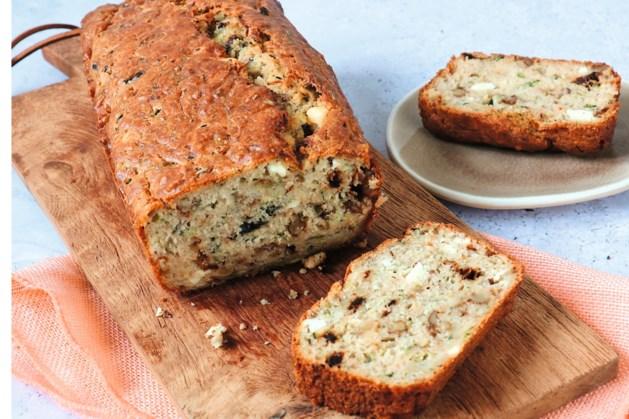 Met deze hartige cake als tussendoortje, krijg je stiekem extra groenten binnen