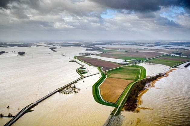 Tweede hoogwatergolf bereikt grote rivieren