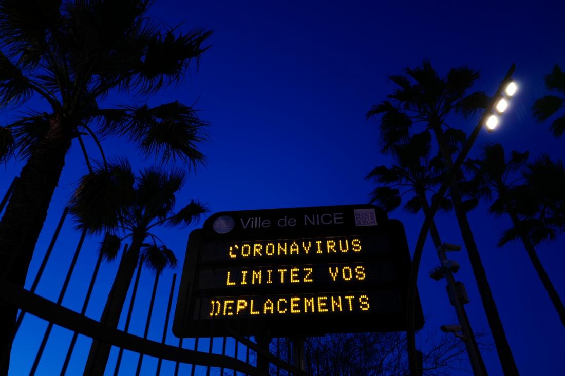 Coronavirus limitez vos deplacements