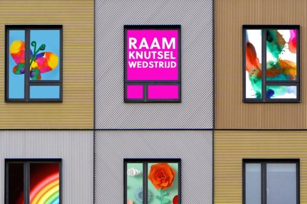 Raamdecoratiewedstrijd tegen verveling in Venlo