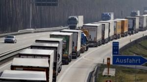 Brussel wil maximaal kwartier wachttijd voor truck bij grens