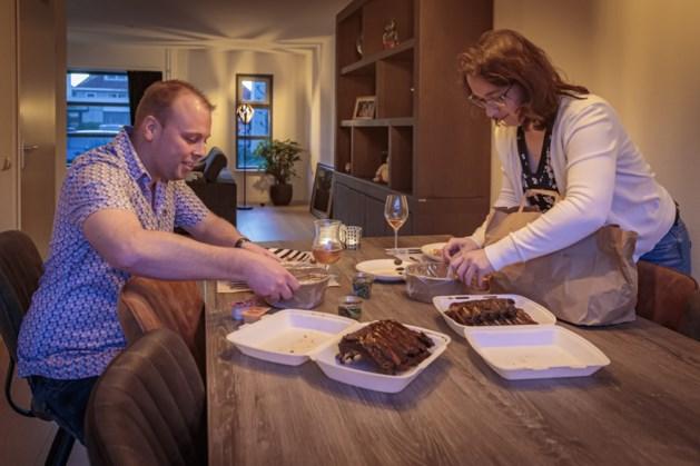Romantisch 'uiteten' doe je nu thuis: 'Dat restaurants hier niet eerder mee zijn gekomen'