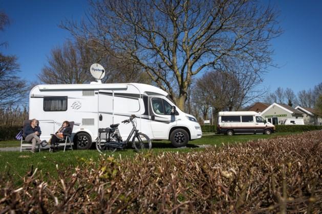 Campings mogen gewoon open, maar erg druk is het niet: 'Prachtig uitzicht en geen mens te zien'