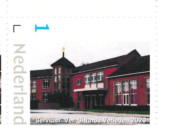 Gesloopte Serviam-school in Sittard keert terug op landelijke postzegel