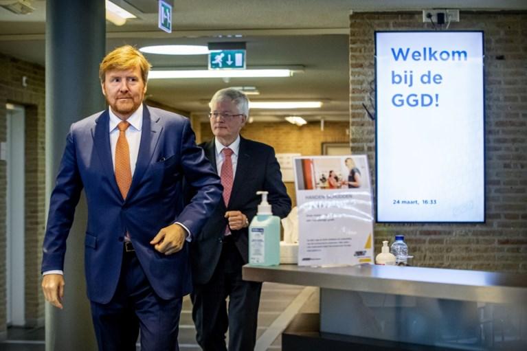 Koning wenst Brabant succes in 'zware weken die gaan komen'