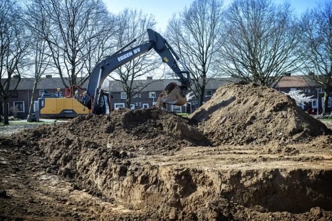 In Heerlense wijk Schaesbergerveld spoelt regenwater straks niet meer het riool in