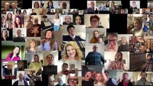 Video: Limburgse artiesten zingen samen: een hart onder de riem voor iedereen
