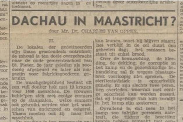 Week 29: Misstanden in interneringskamp Maastricht en 'foute' burgemeesters geschorst