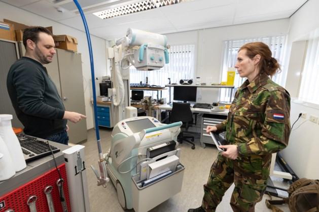 Röntgenapparaat van Defensie nu tijdelijk bij VieCuri