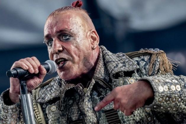Rammstein ontkent coronabesmetting frontman Till Lindemann