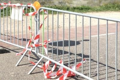 Afgesloten grensovergang bij Maastricht vernield om toch over te kunnen steken