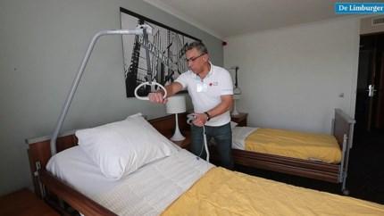 Kijkje in het coronahotel in centrum Roermond: 'Geen risico voor omgeving'