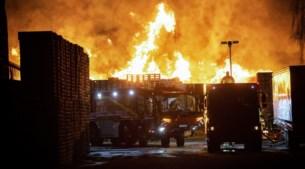 Beloning voor tips over brandstichting bij pallethandel Brunssum