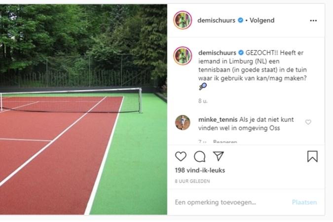 Gezocht: tennisbaan voor Demi Schuurs