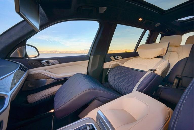 Autostoel wordt bed: eind dit jaar kan het in de BMW X7