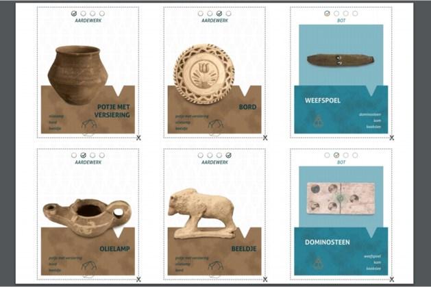 Archeologisch centrum De Vondst in Heerlen zet doe-het-zelf kwartetspel online