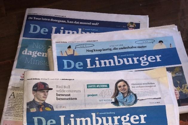 De Limburger deelt gratis kranten uit aan de zorg