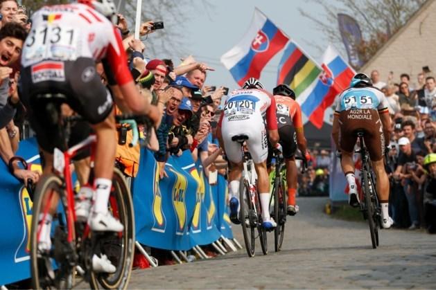 Profrenners rijden finale virtuele Ronde van Vlaanderen