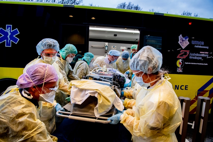Nu 1324 patiënten op intensive care, stijging van 51