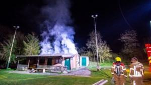 Brand in clubgebouw politiehondenvereniging in Venlo