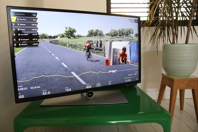 Van Avermaet winnaar virtuele Ronde van Vlaanderen