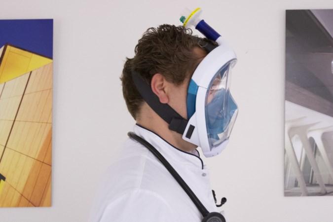Van snorkel naar masker voor zorgpersoneel, dankzij 3D-printers Zuyd Hogeschool