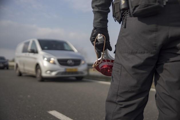 Bestuurders met drugs betrapt op autoweg B56n