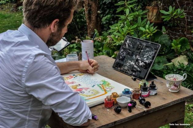 Interactieve tekenworkshop voor Limburgse basisschoolleerlingen