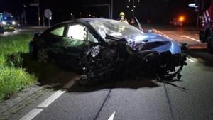 Video: Ravage op de weg na harde crash bij Weert
