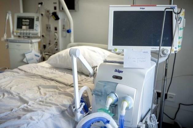 Aantal ic-patiënten voor het eerst afgenomen in Nederland