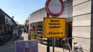 Pad tussen supermarkten in hartje Horst taboe voor fietsers