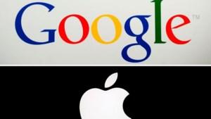 Rivalen Apple en Google bundelen krachten om corona-app mogelijk te maken