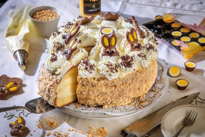 Met deze zonnige taart van Oma Annie maak je van Pasen een waar feest