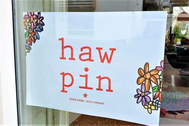 'Haw pin' poster ten bate van eenzame ouderen