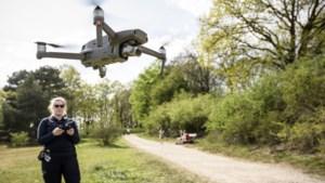 Drone zoekt tevergeefs naar groepen op stille heide