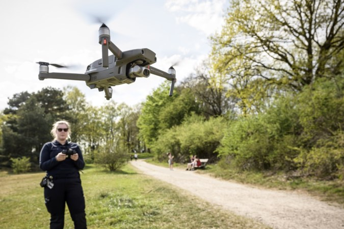 Drone zoekt tevergeefs naar groepen op stille Brunssummerheide