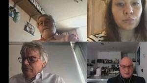 Politici in Maastricht vergaderen achter laptop: 'Dames en heren, zijn we er klaar voor?'