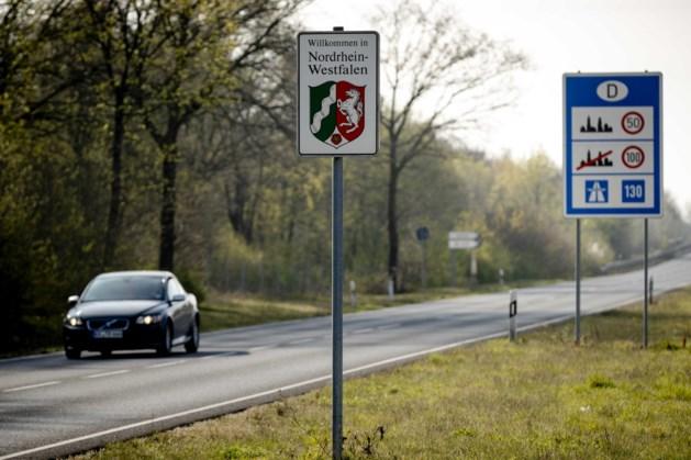 Veel Duitse dagjesmensen willen toch de grens over