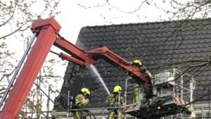 Brand in pand van nieuw Hiltonhotel in Sittard