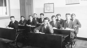 Geen eindexamens in 1945: onderwijs na de bevrijding
