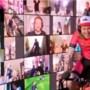 Deelnemers Koers op Rollen fietsen 700 euro bijeen voor Serious Request