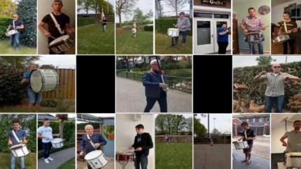 Video: zo kan deze drumband toch samen spelen