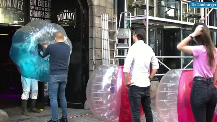 Satirisch filmpje over 1,5 meter-horeca